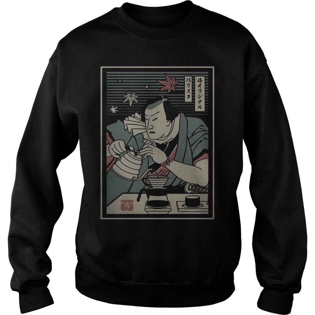 Barista Samurai Sweater