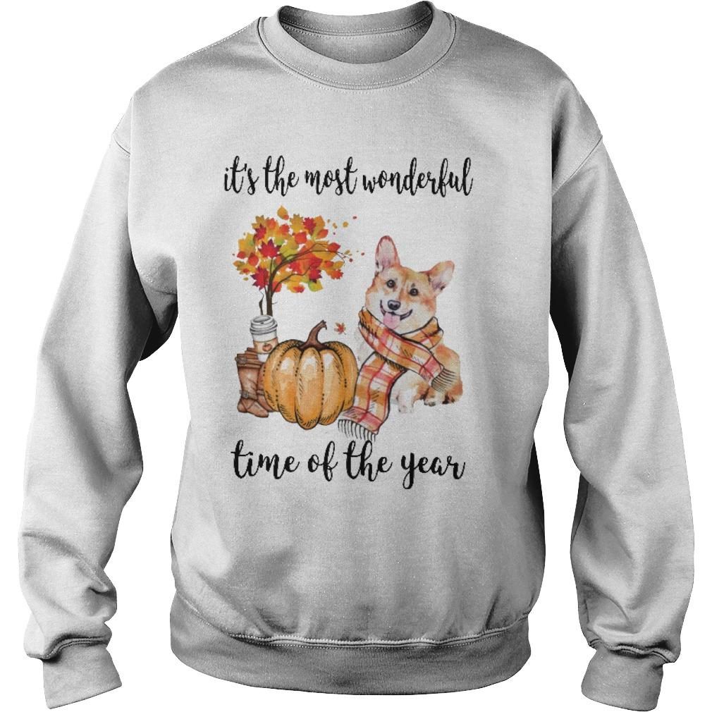 Corgi It's The Most Wonderful Time Of The Year Sweater