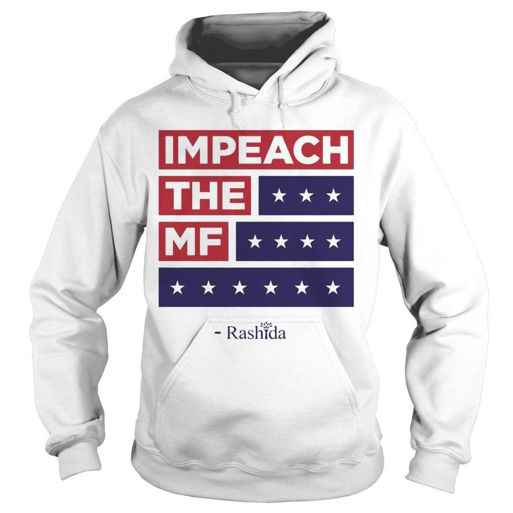 Rashida Tlaib Impeach Trump Hoodie