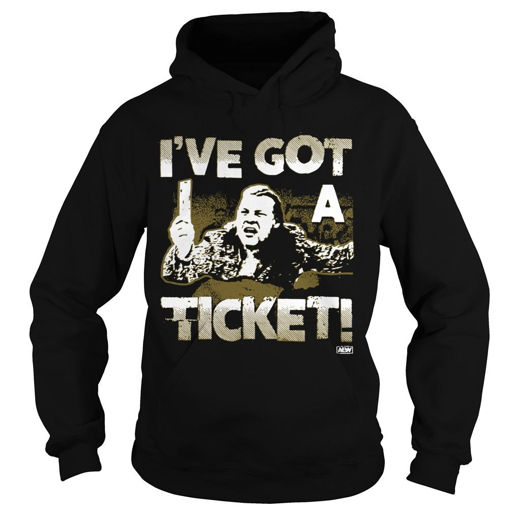 AEW Chris Jericho I've Got A Ticket Hoodie