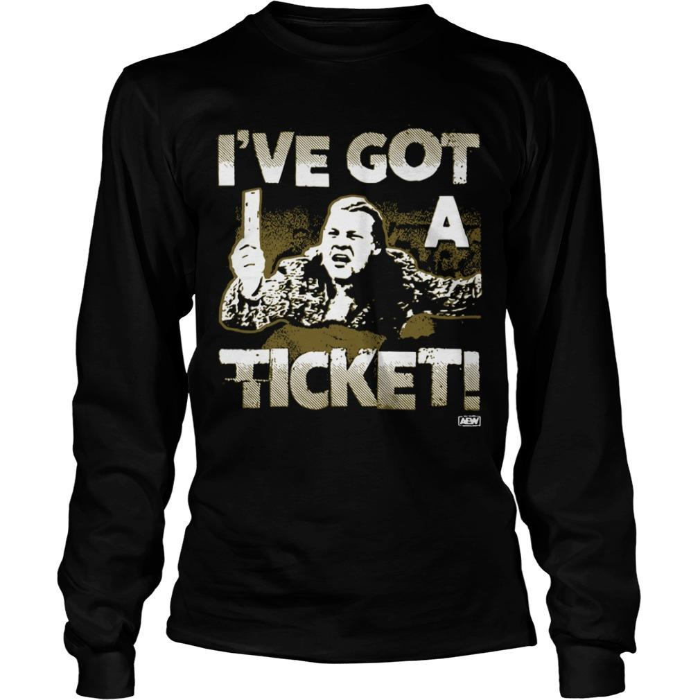 AEW Chris Jericho I've Got A Ticket Longsleeve