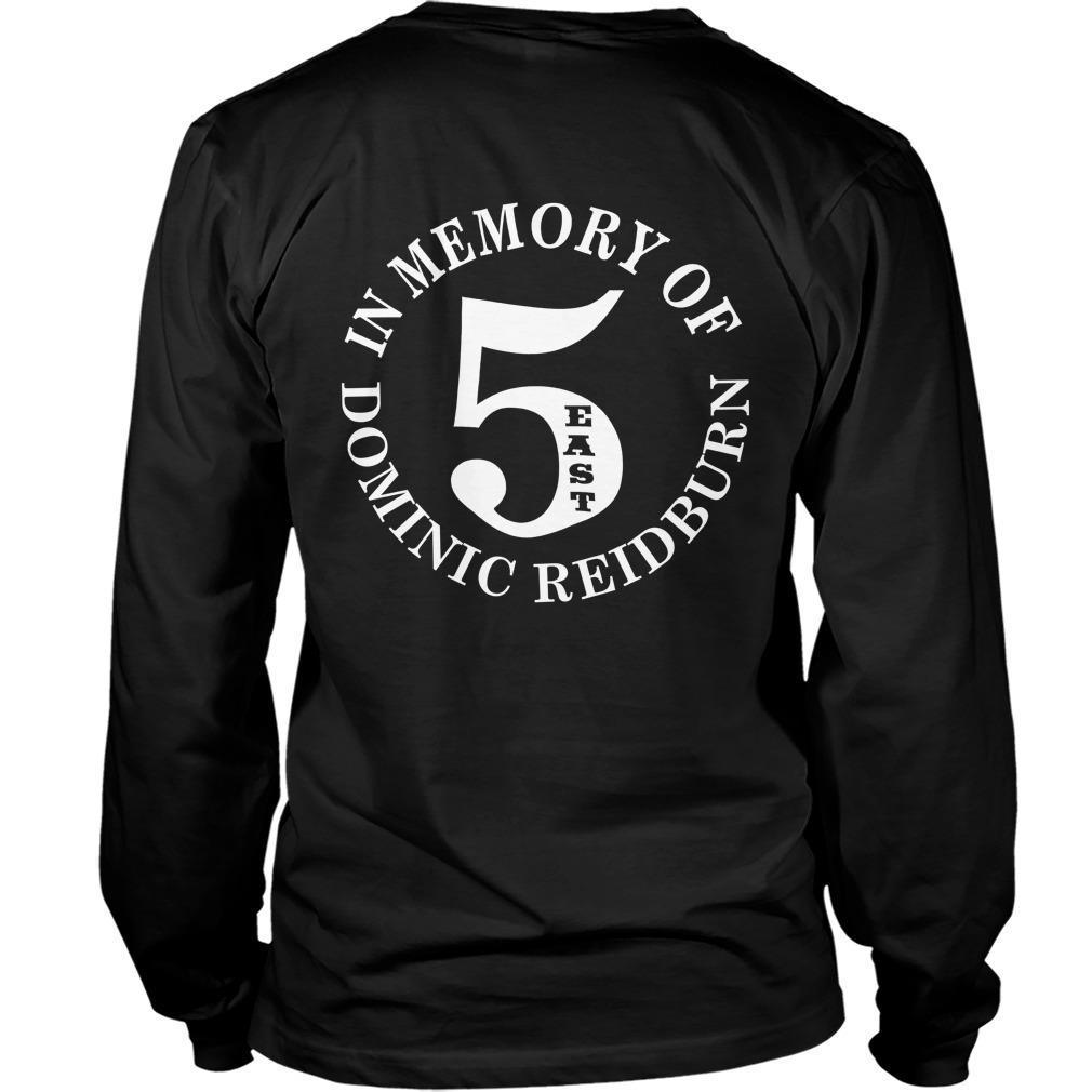 East Side Legend In Memory Of Dominic Reidburn Longsleeve