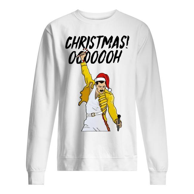 Freddie Mercury Christmas Ooooooh Sweater