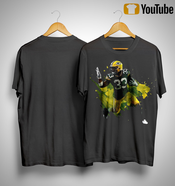 Green Bay Packers Running Back Aaron Jones T Shirt
