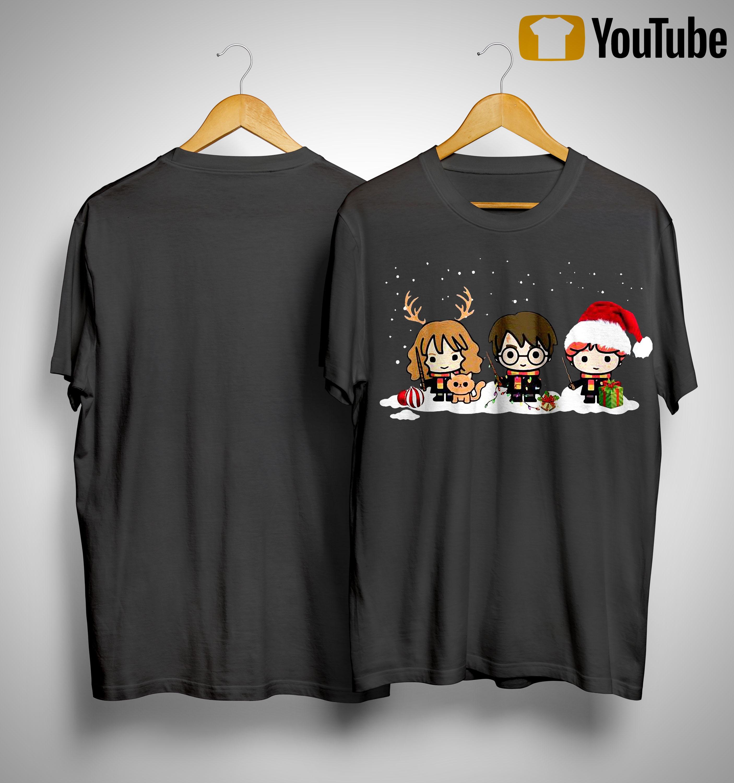 Harry Potter Christmas Shirt.Harry Potter Characters Christmas Shirt