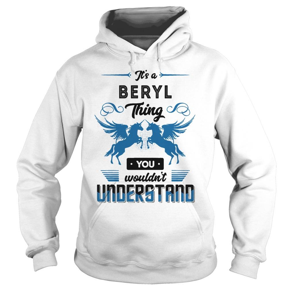 Horse It's A Beryl Thing You Wouldn't Understand Hoodie