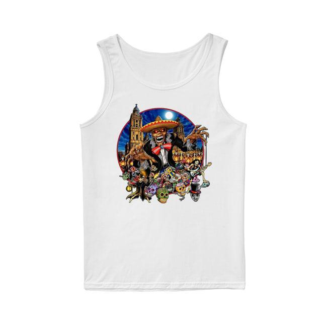 Iron Maiden In The Mexico City Tank Top