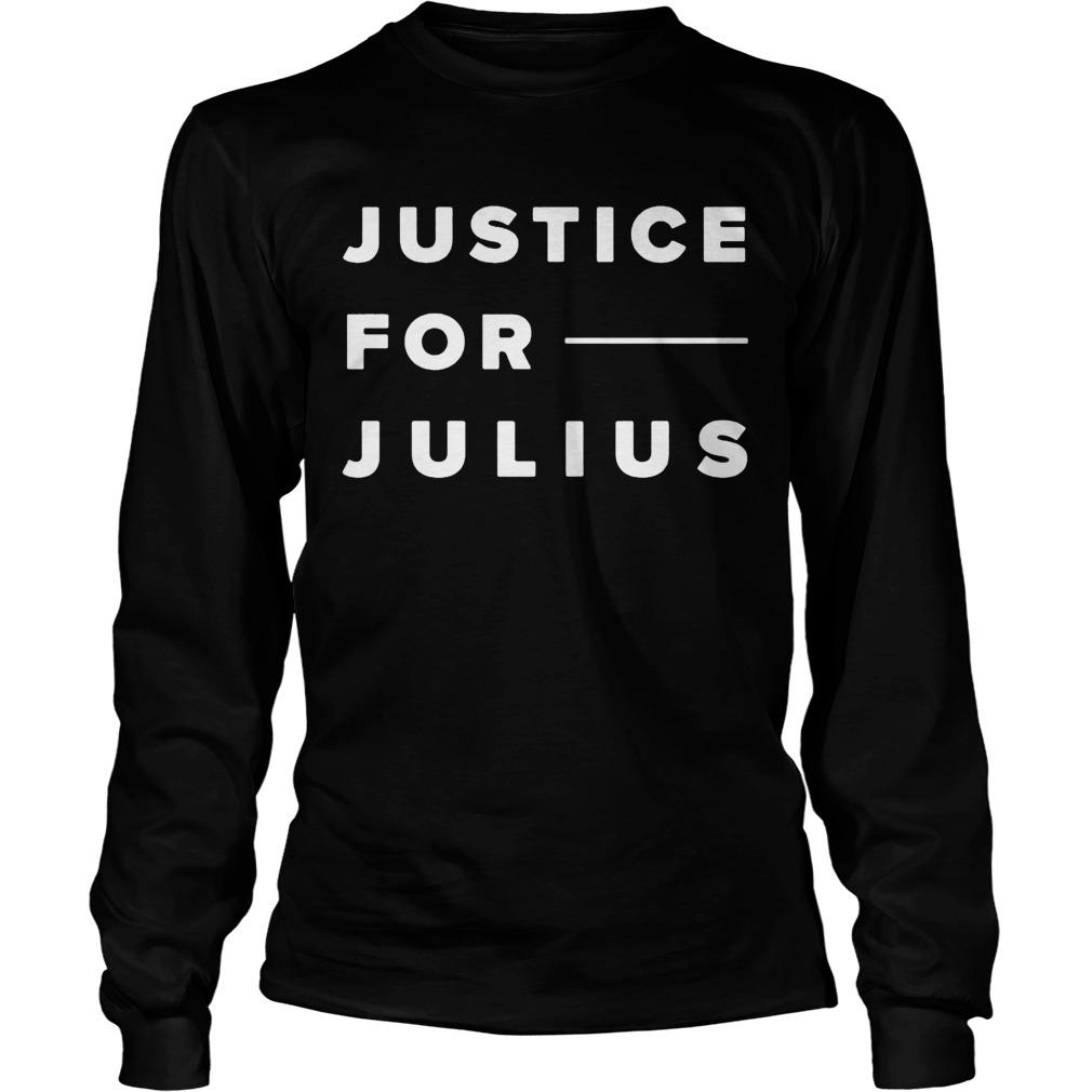 Justice For Julius Jones Longsleeve
