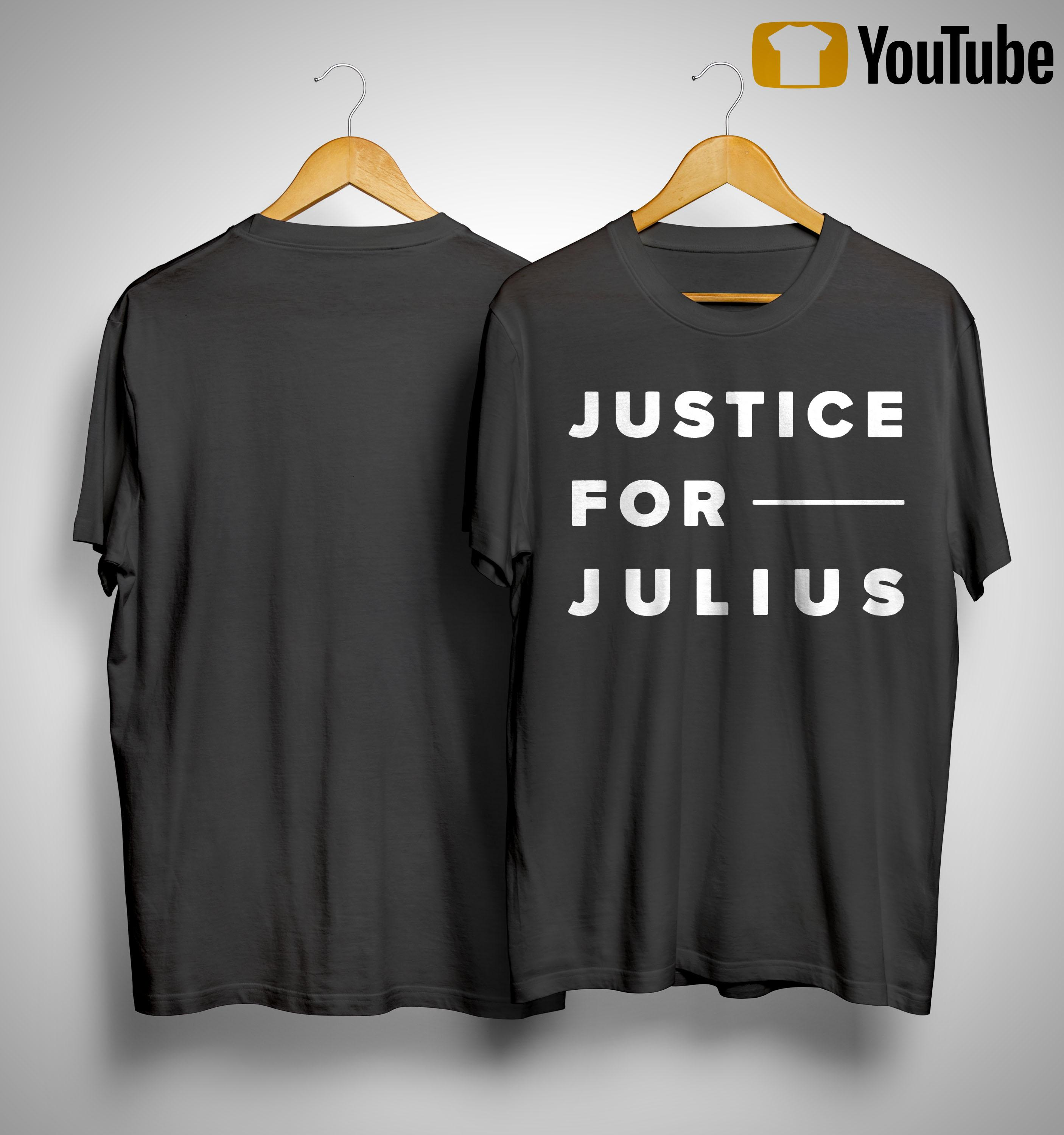 Justice For Julius Jones Shirt