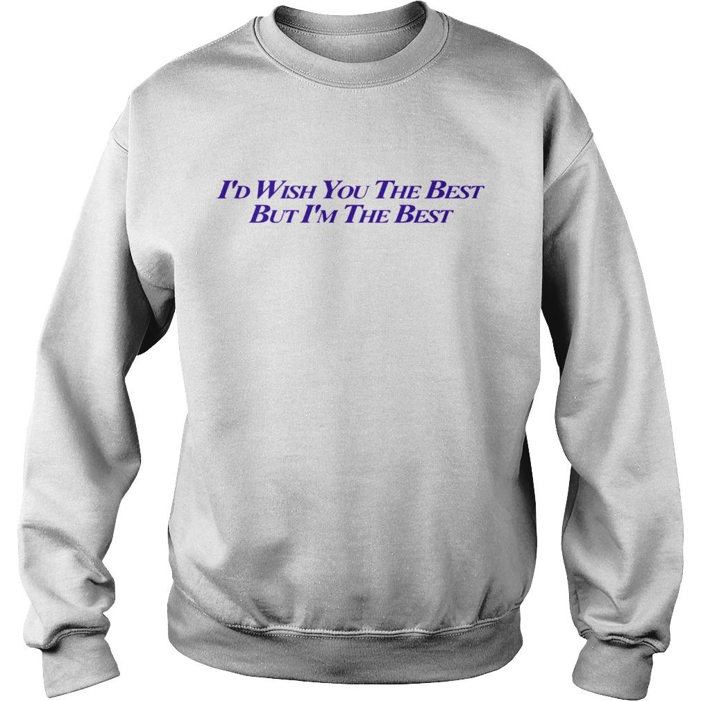 Miley Cyrus I'd Wish You The Best But I'm The Best Sweater