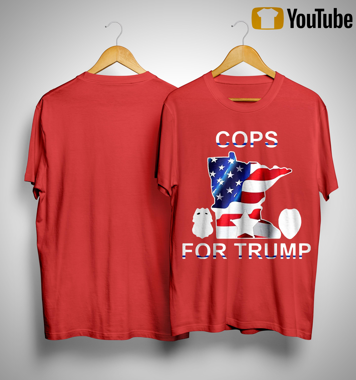Minneapolis Police Cops For Trump Shirt