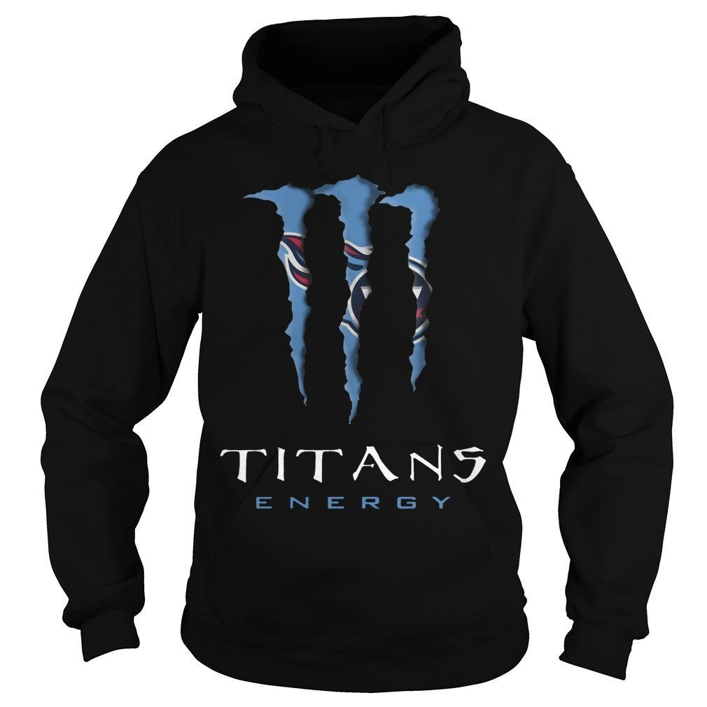 Monster Tennessee Titans Energy Hoodie