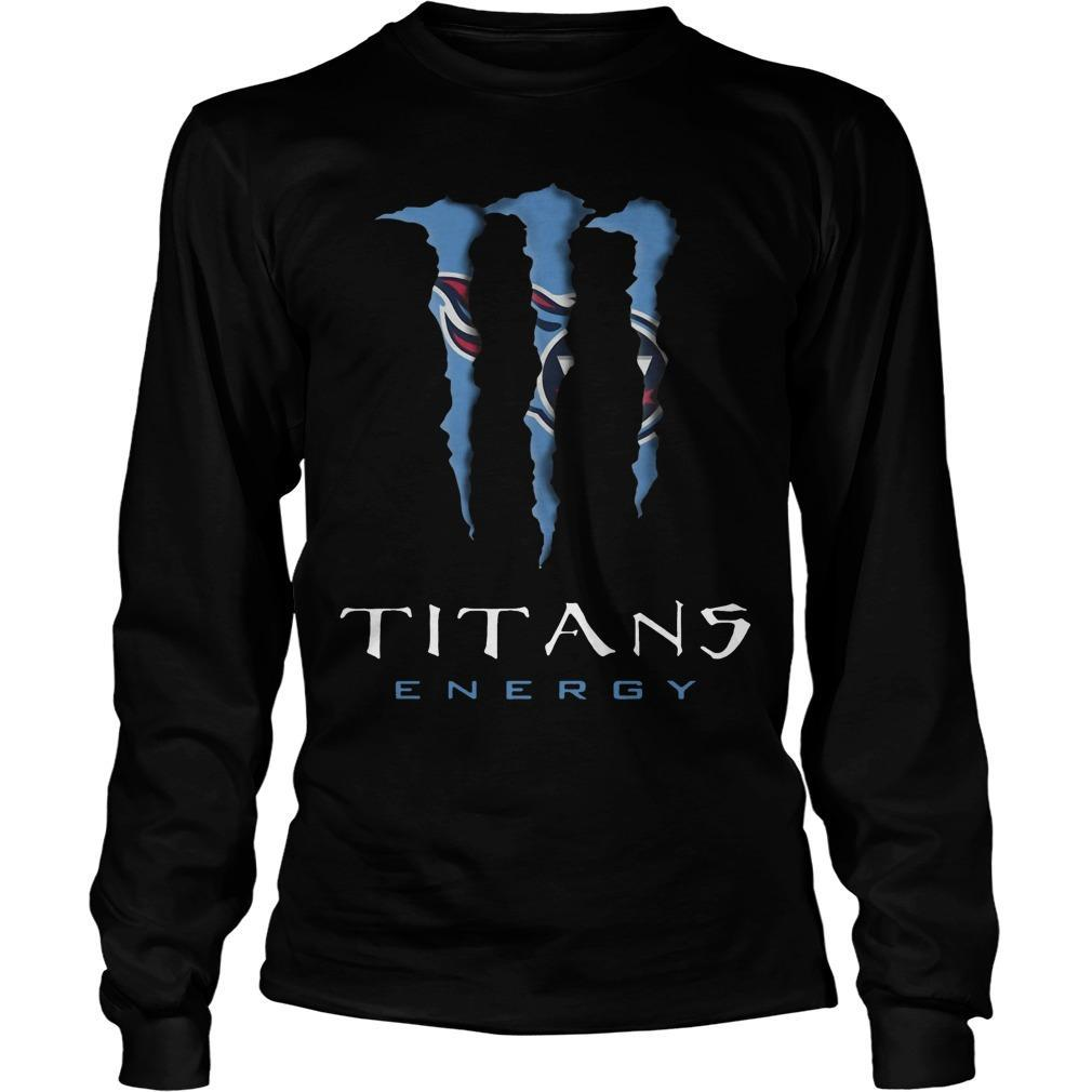 Monster Tennessee Titans Energy Longsleeve