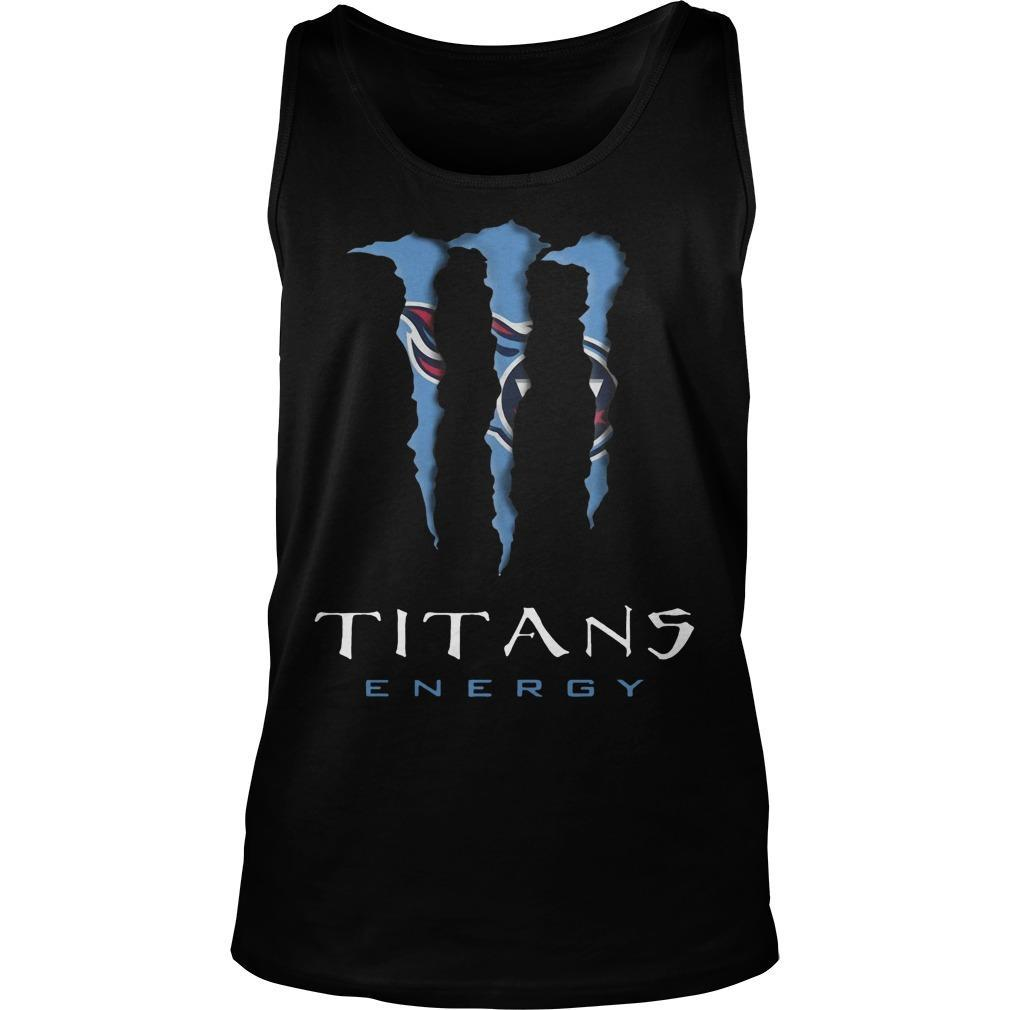 Monster Tennessee Titans Energy Tank Top