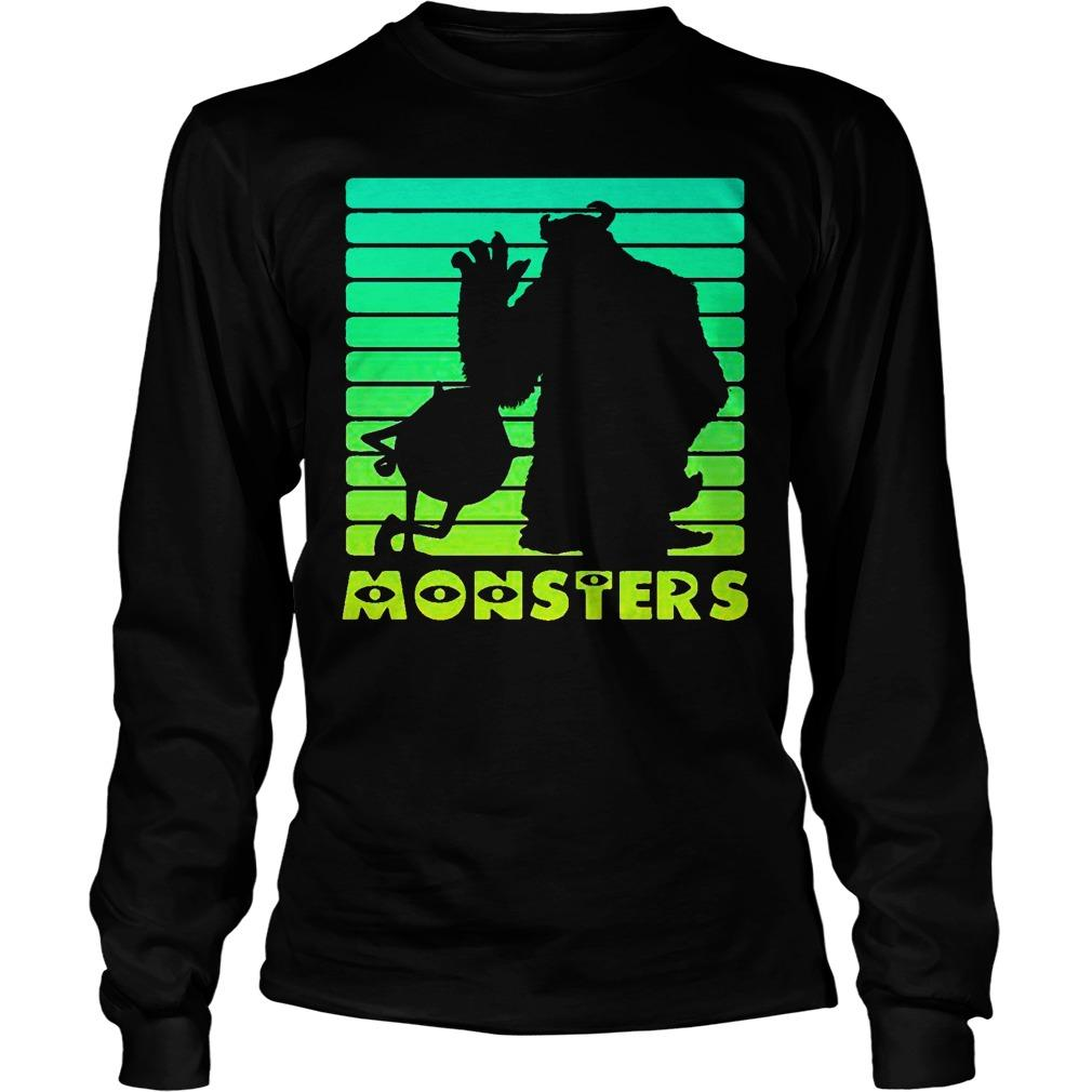 Monsters Sulley And Mike Wazowski Longsleeve