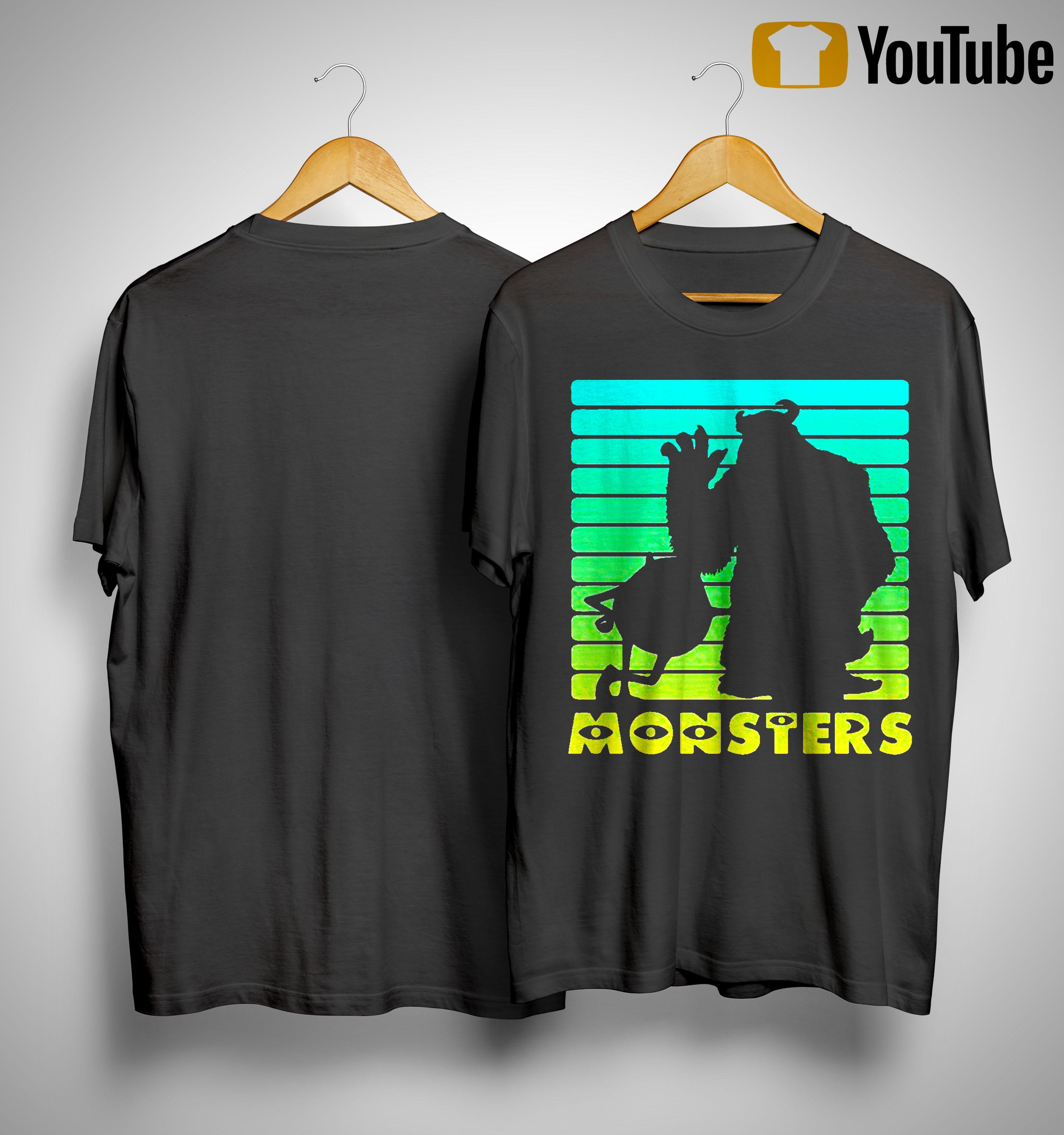 Monsters Sulley And Mike Wazowski Shirt