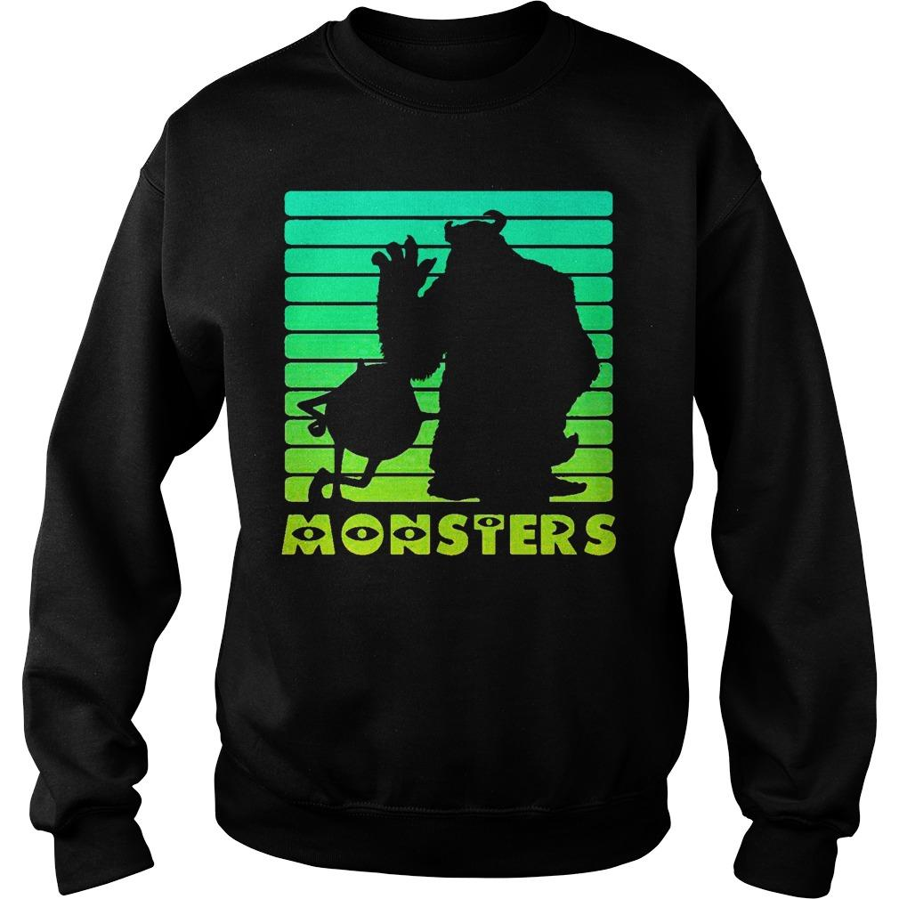Monsters Sulley And Mike Wazowski Sweater