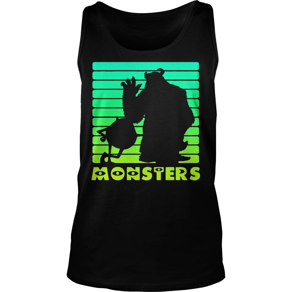 Monsters Sulley And Mike Wazowski Tank Top