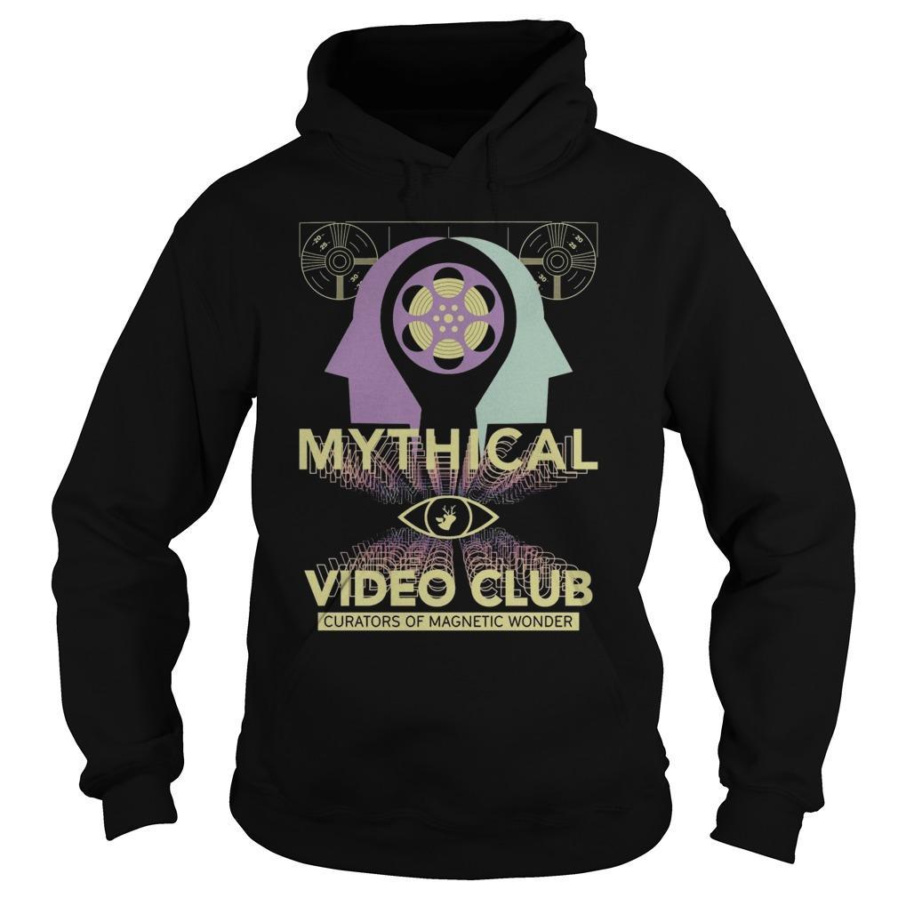 Mythical Video Club Curators Of Magnetic Wonder Hoodie