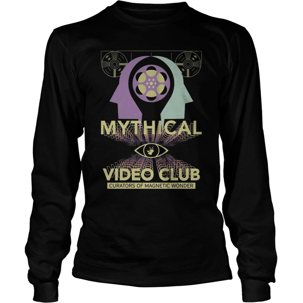 Mythical Video Club Curators Of Magnetic Wonder Longsleeve