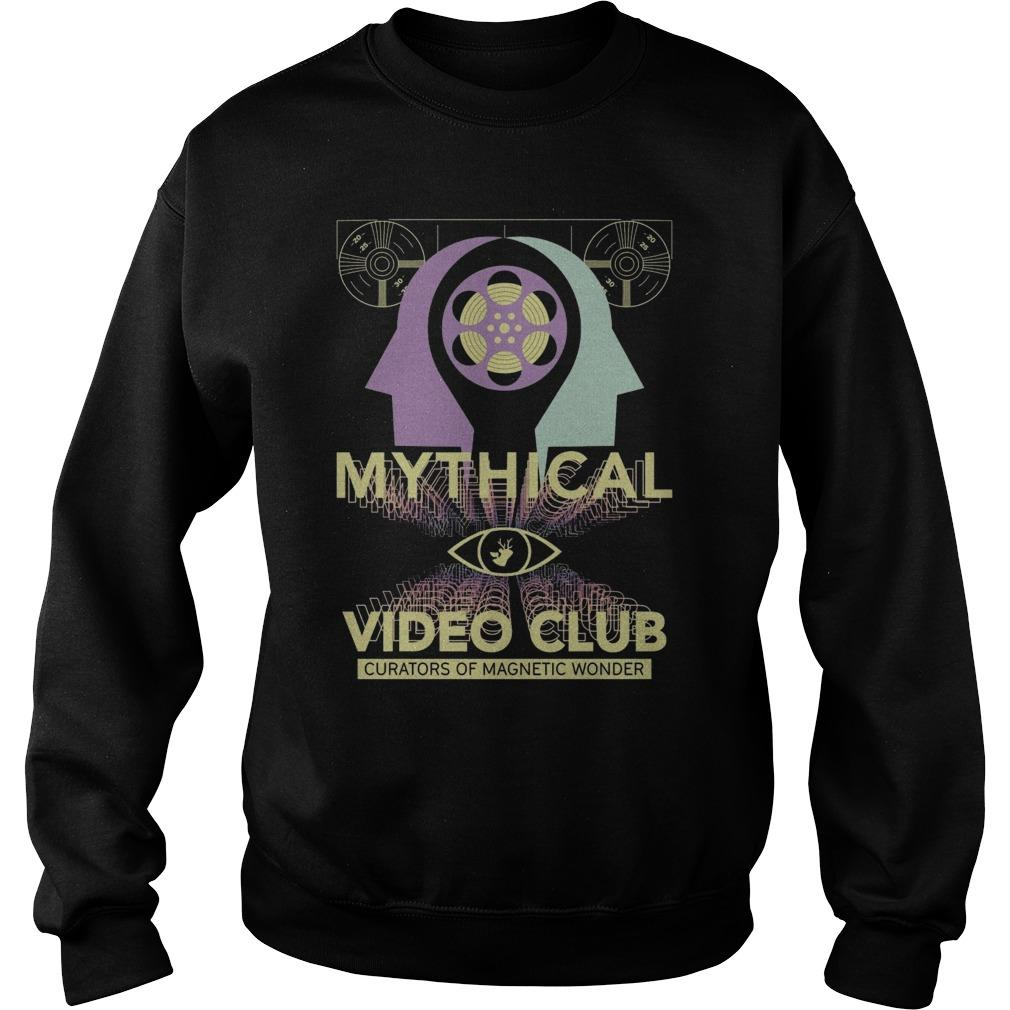 Mythical Video Club Curators Of Magnetic Wonder Sweater