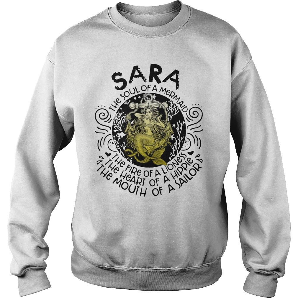 Sara The Soul Of A Mermaid The Fire Of A Lioness Heart Of Hippie Sweater
