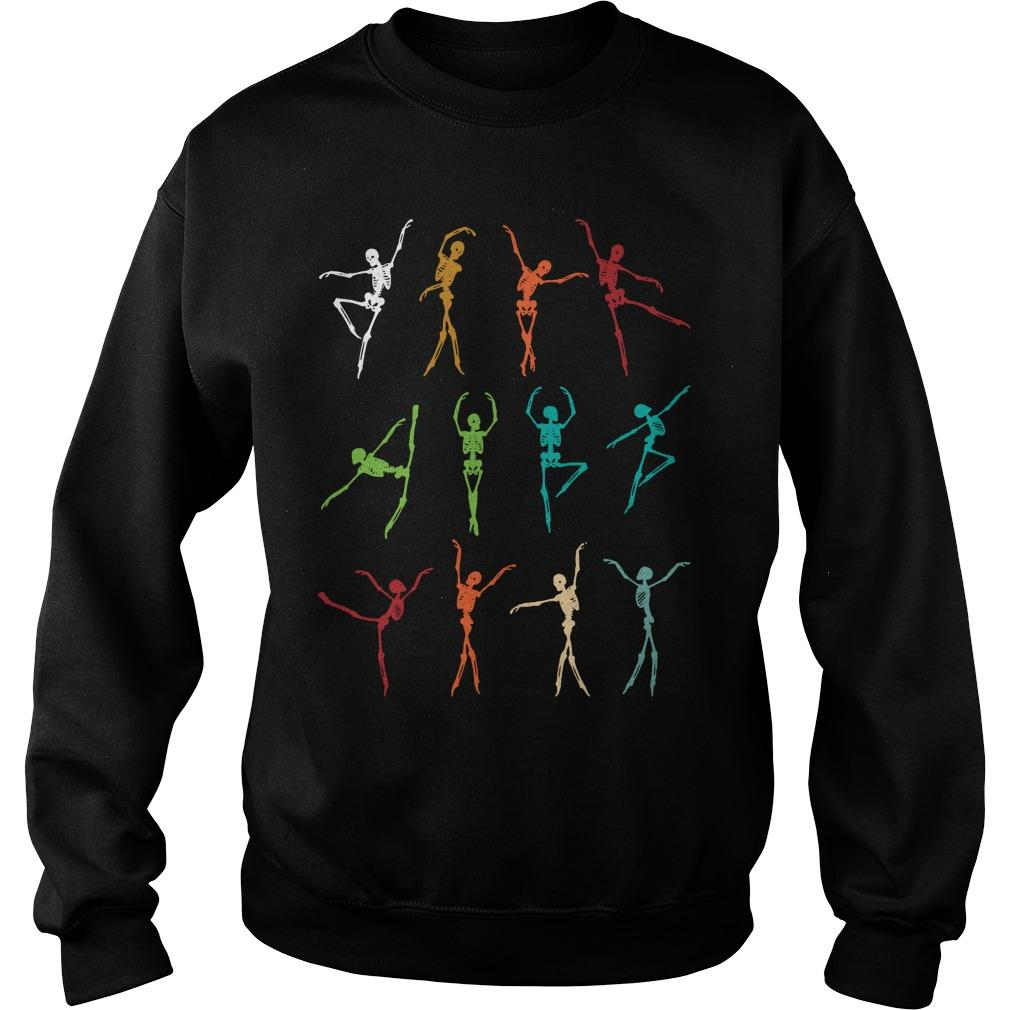 Skeletons Dancing Bale Sweater