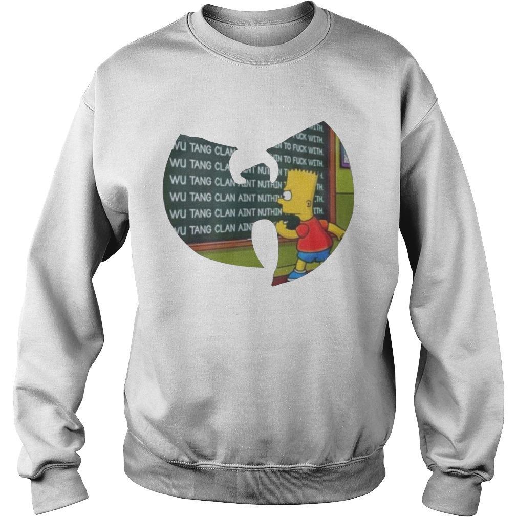 Wu Tang Clan Bartholomew Jojo Simpson Sweater