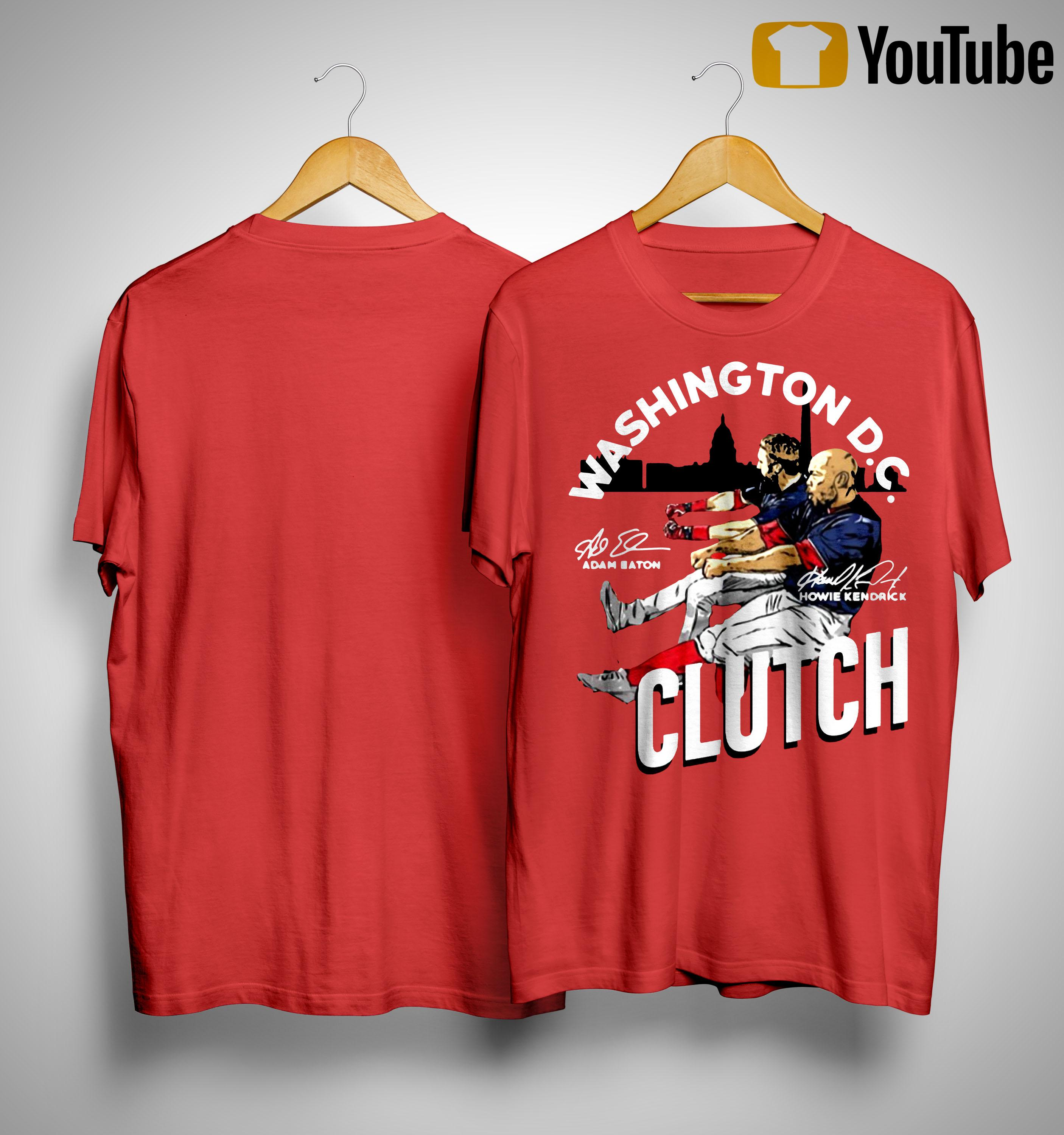 Adam Eaton Howie Kendrick Washington Dc Clutch Shirt