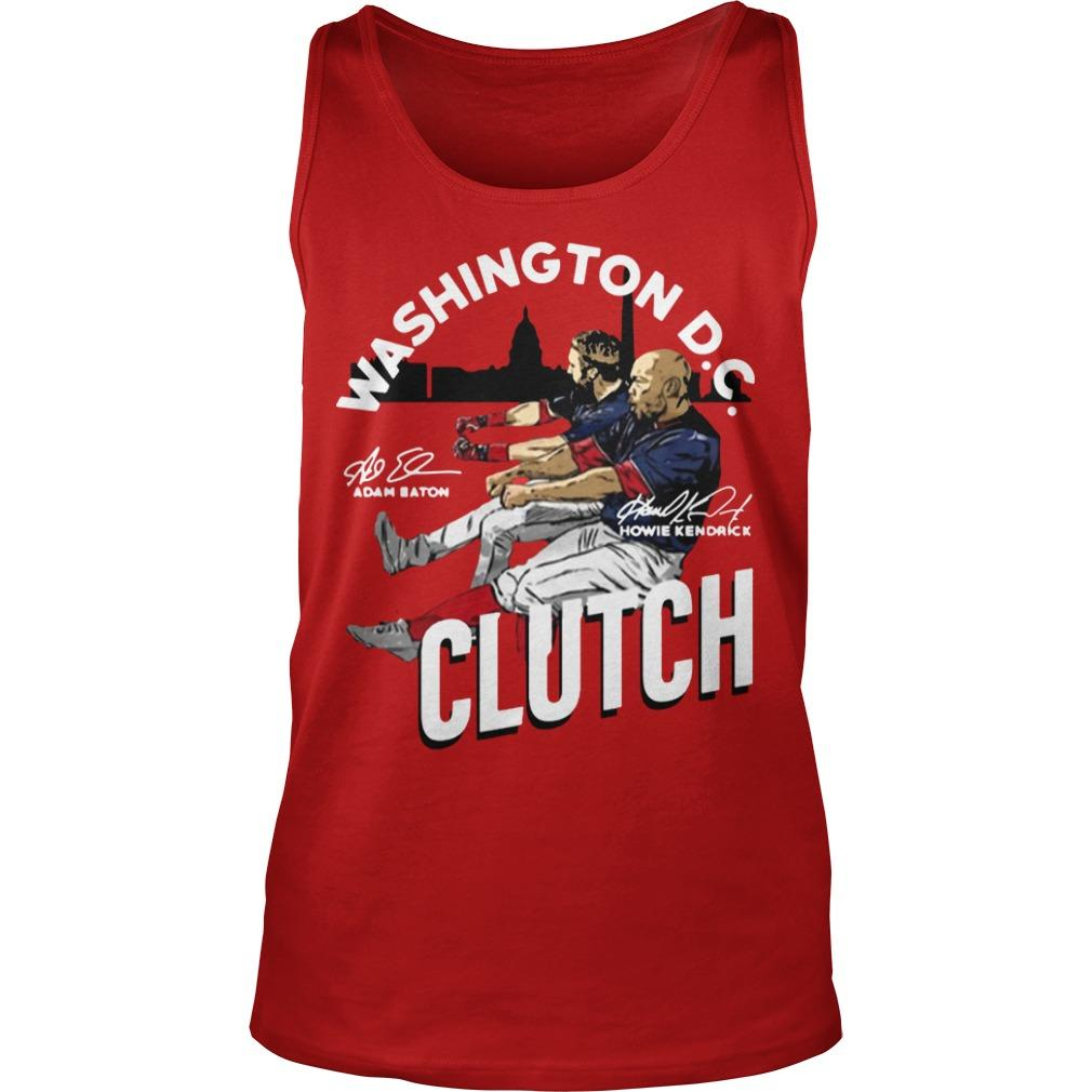 Adam Eaton Howie Kendrick Washington Dc Clutch Tank Top