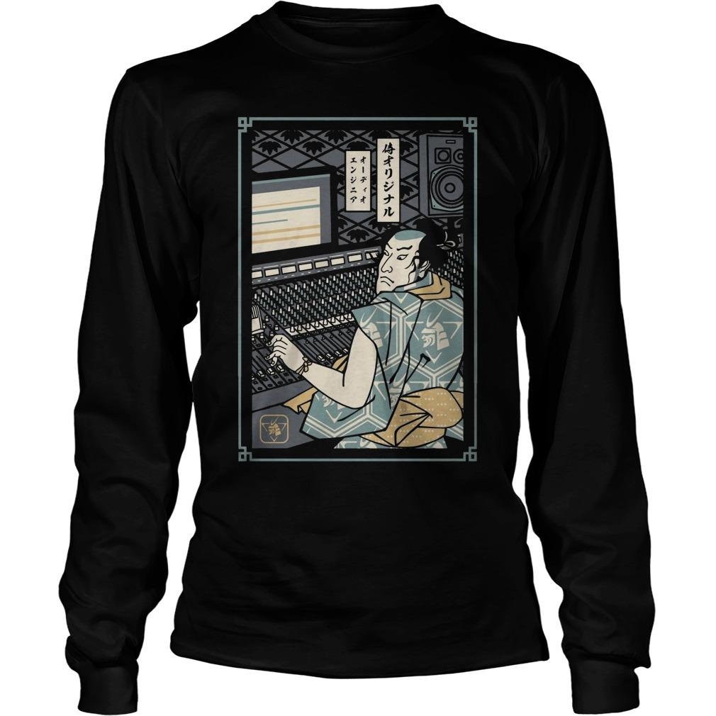 Audio Engineer Samurai Longsleeve
