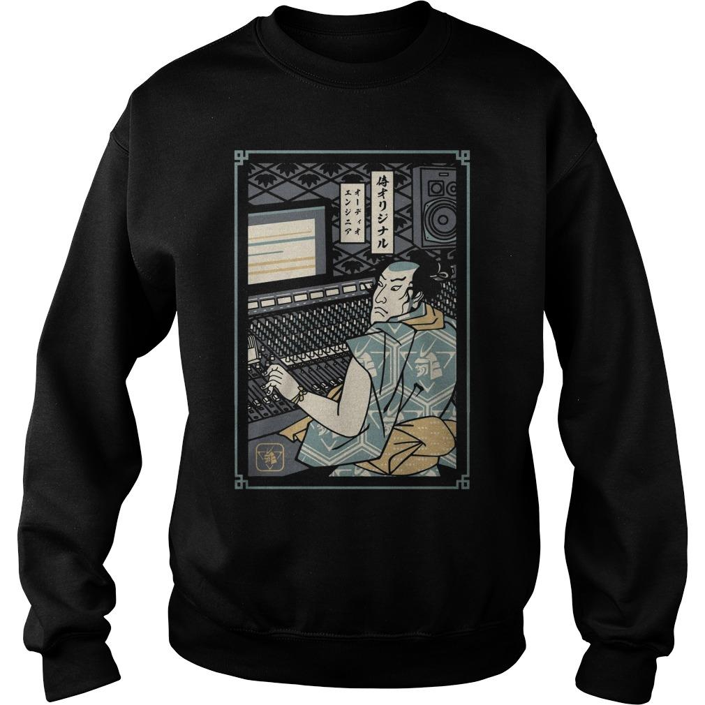 Audio Engineer Samurai Sweater