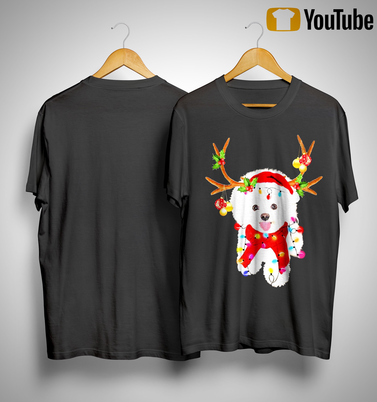 Bichon Frise Gorgeous Reindeer Shirt