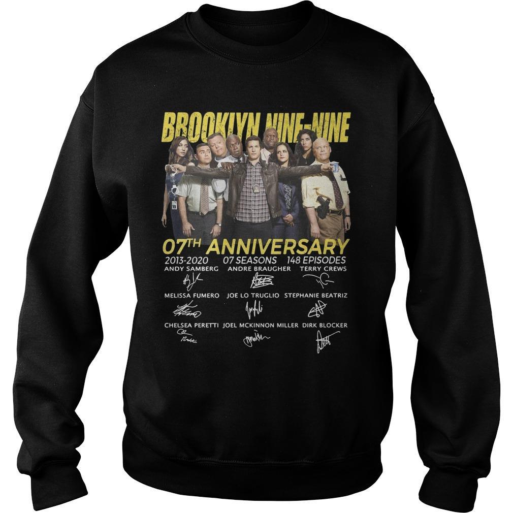 Brooklyn Nine Nine 07th Anniversary Signatures Sweater