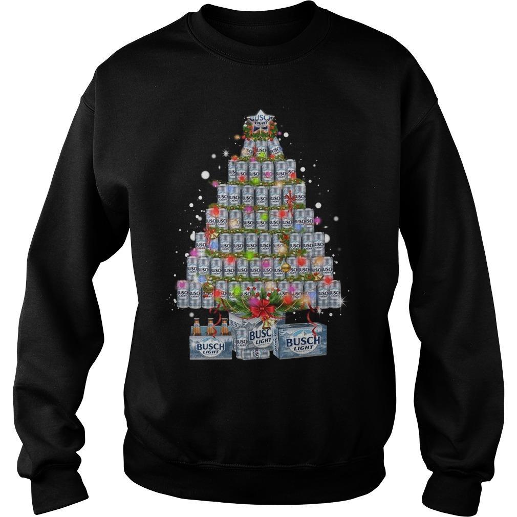 Busch Light Christmas Tree Sweater