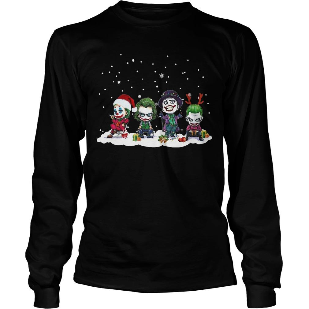 Chibi Joker Characters Christmas Longsleeve