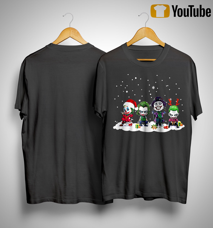 Chibi Joker Characters Christmas Shirt