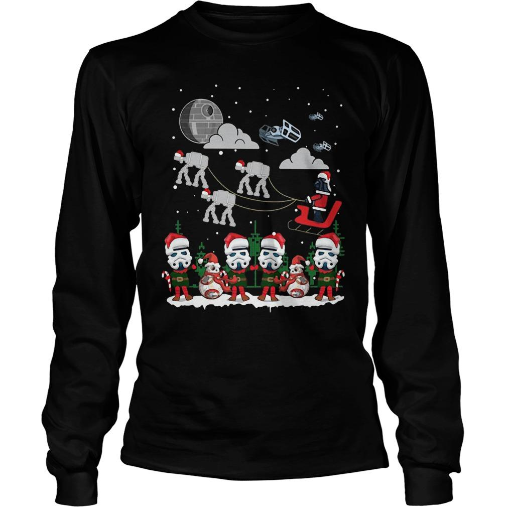 Christmas Star Wars Under Snow Longsleeve