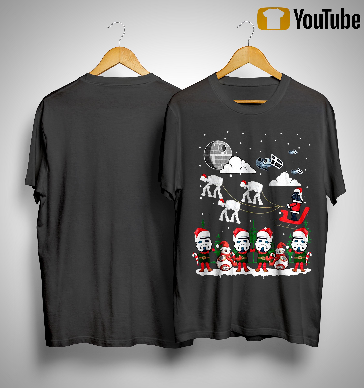 Christmas Star Wars Under Snow Shirt