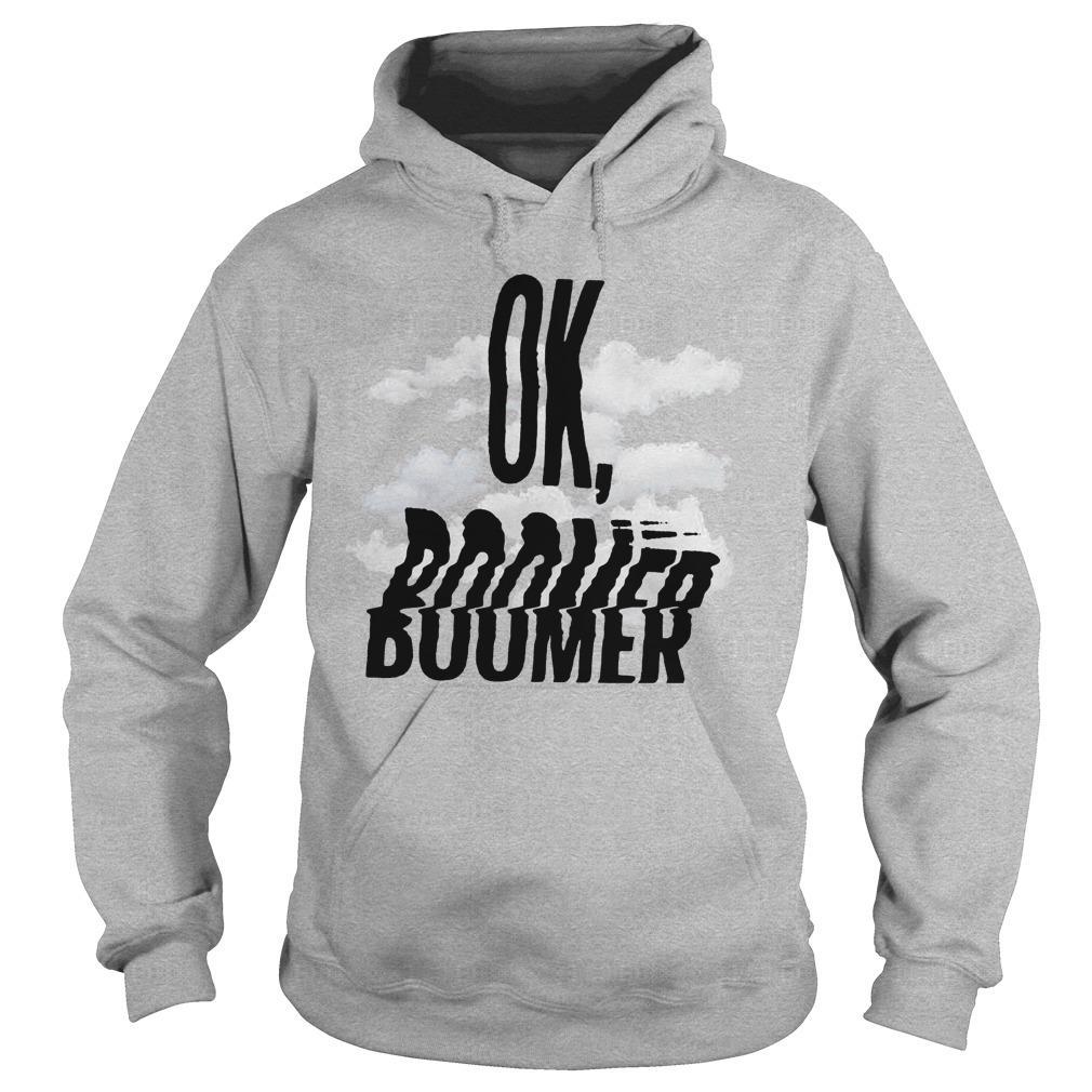 Cloud Ok Boomer Hoodie