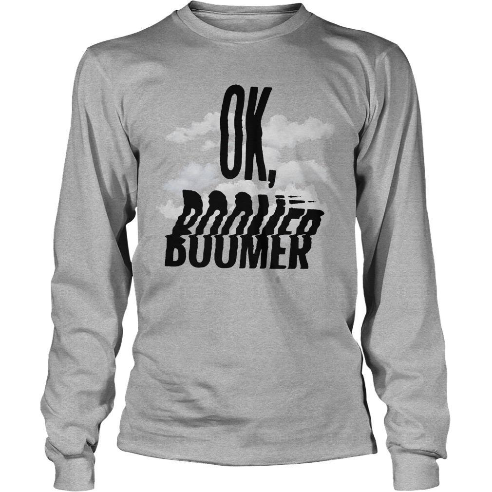Cloud Ok Boomer Longsleeve