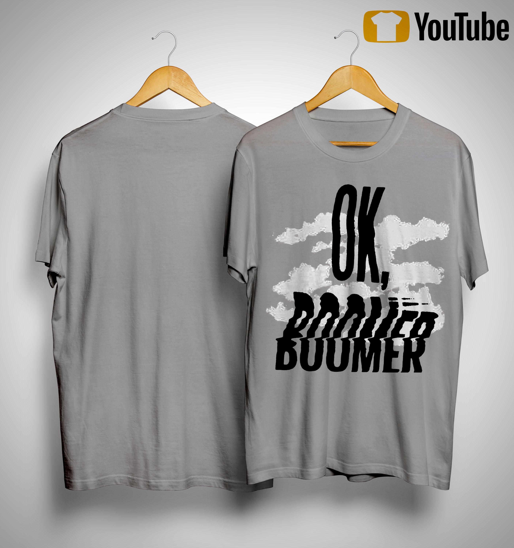 Cloud Ok Boomer Shirt