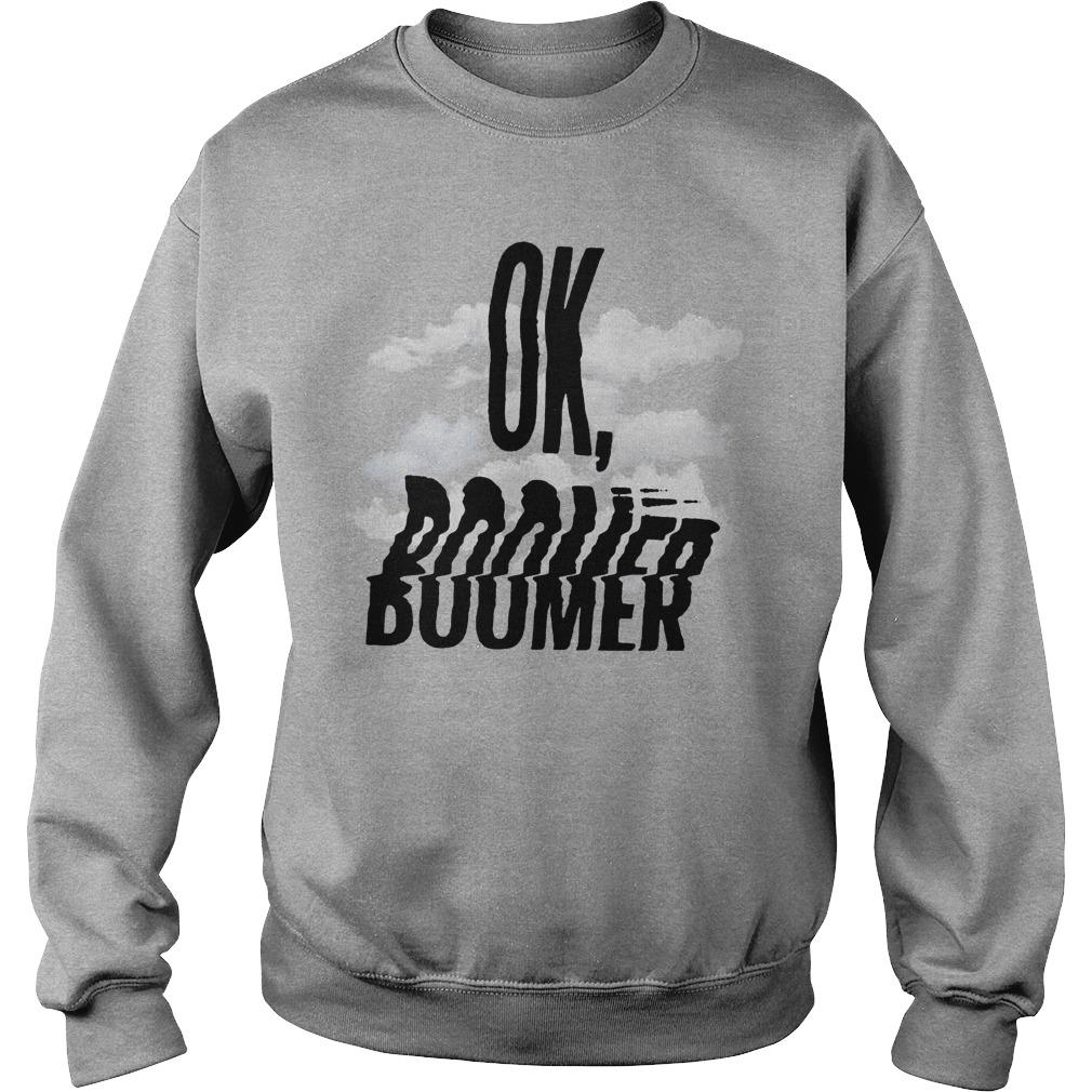 Cloud Ok Boomer Sweater