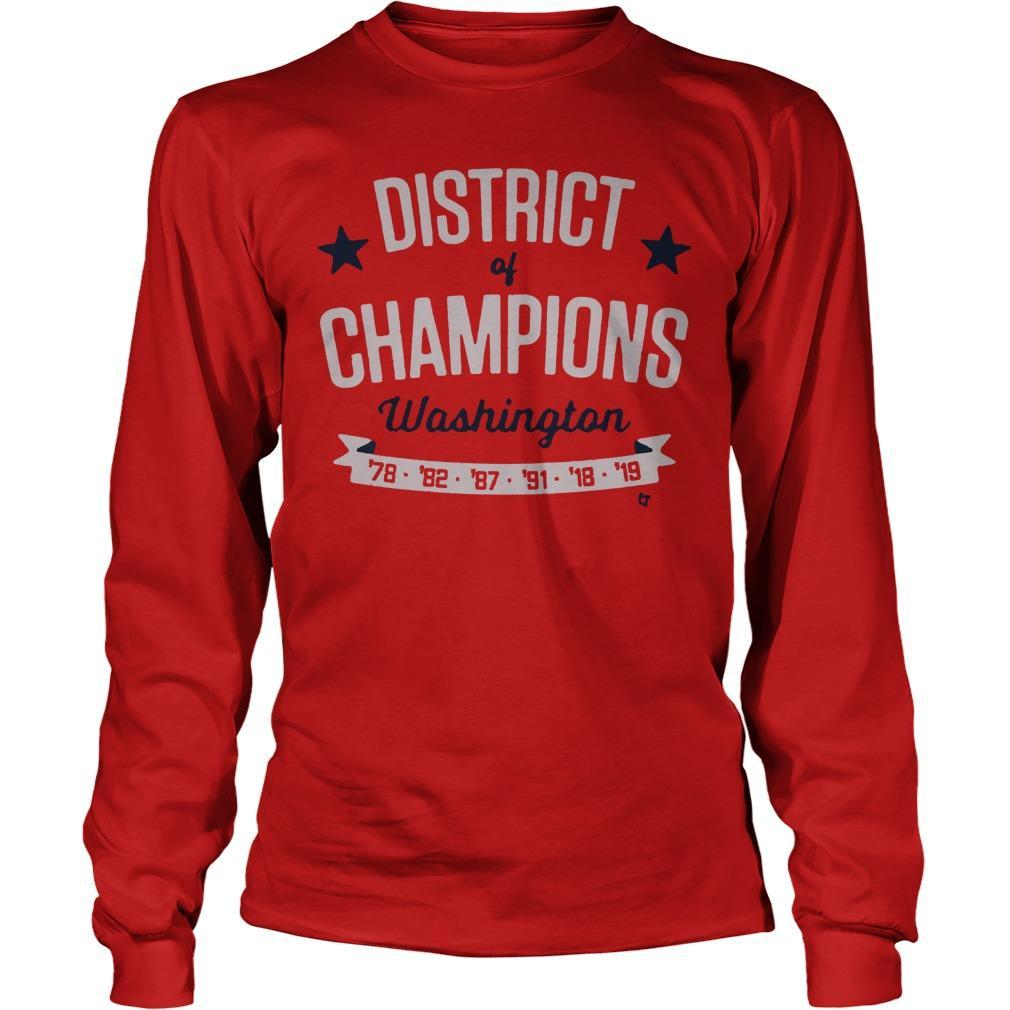 District Of Champions Washington Longsleeve