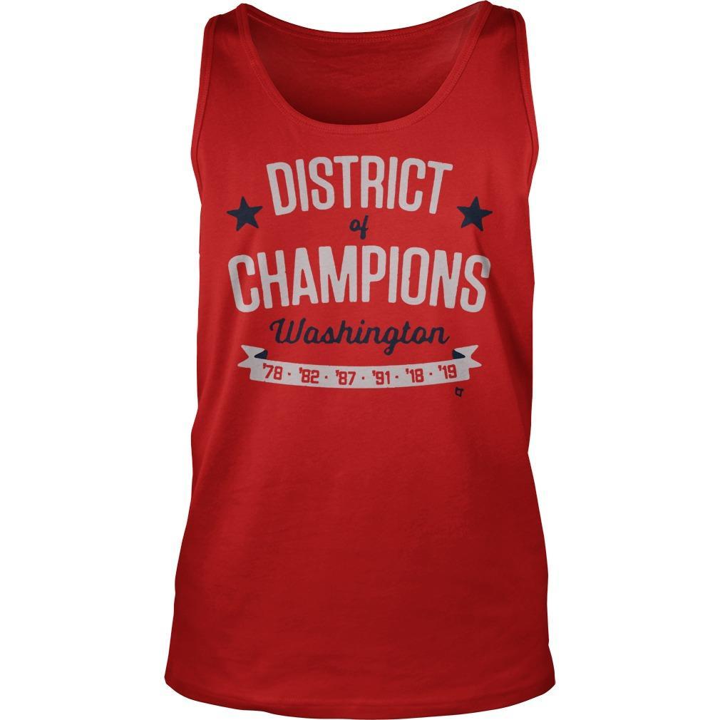 District Of Champions Washington Tank Top
