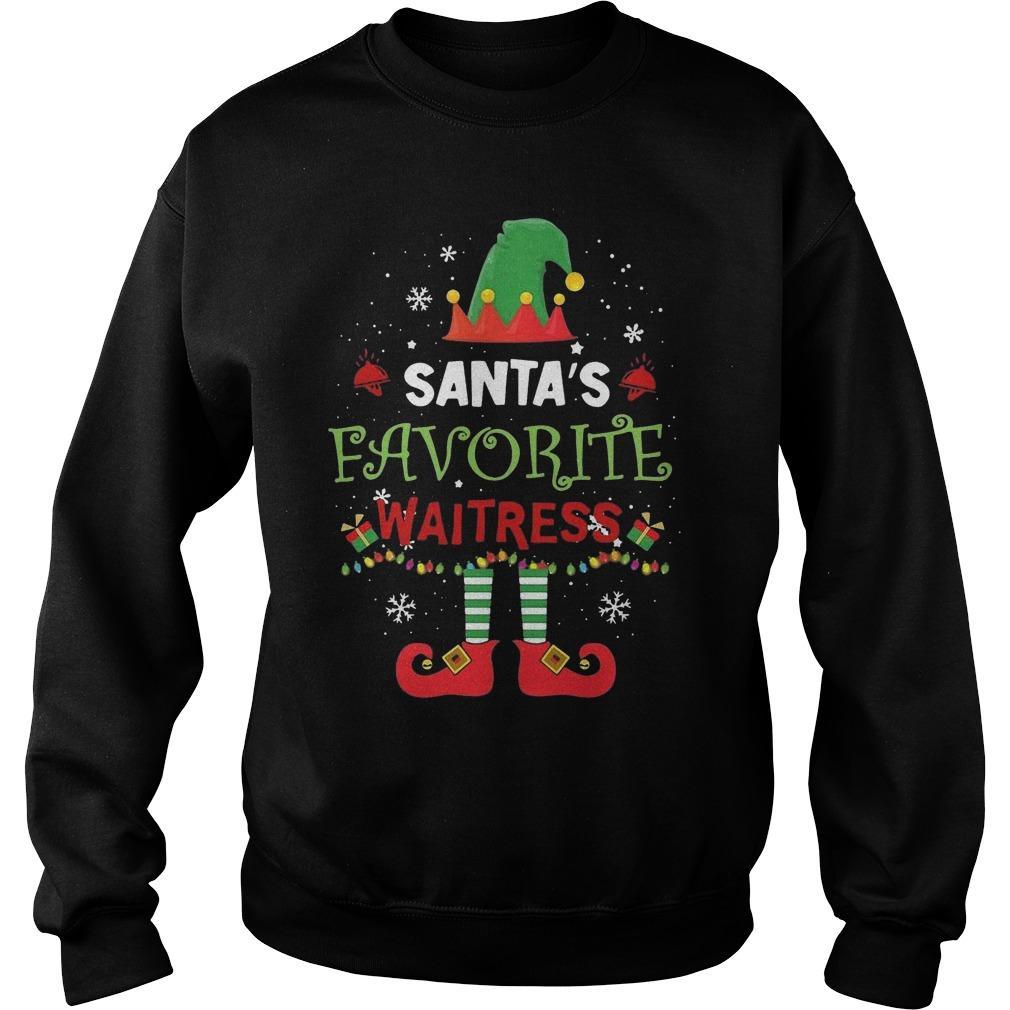 Elf Santa's Favorite Waitress Sweater