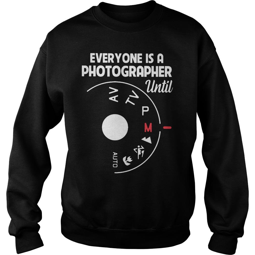 Everyone Is A Photographer Until Auto Mode Sweater