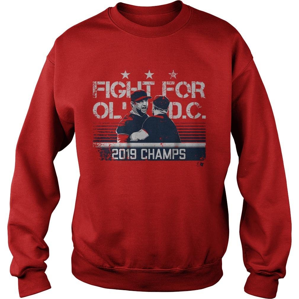 Fight For Old Dc 2019 Champs Sweater