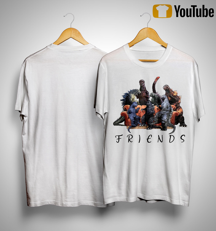 Godzilla Company Friends Shirt