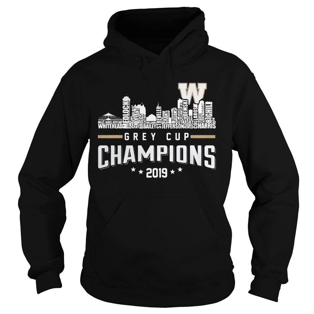 Grey Cup Champions 2019 Hoodie
